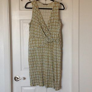 Tommy Bahama printed silk dress